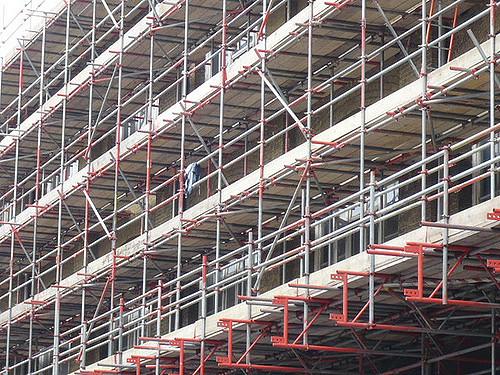 نصب داربست فلزی شمال تهران